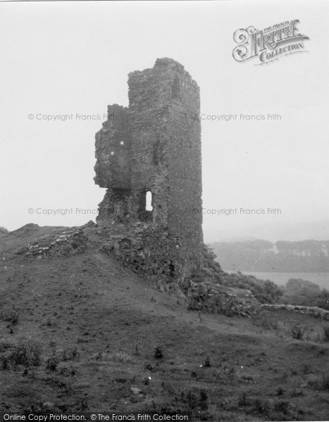 Photo of Ballantrae, Ardstinchar Castle 1951