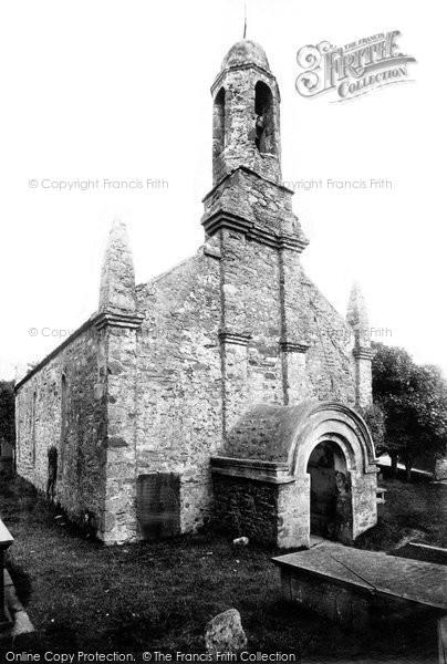 Photo of Ballaugh, Old Church 1895