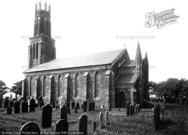 Photo of Ballaugh, St Mary's Church 1895