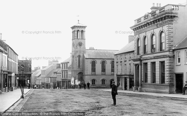 Photo of Ballymoney, High Street c.1900