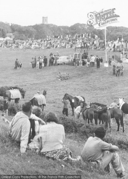 Photo of Ballyshannon, Danby House Show Grounds And Church c.1960