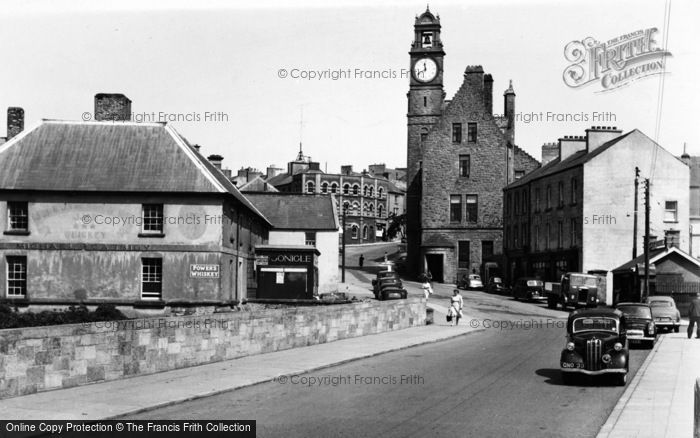 Photo of Ballyshannon, The Bridge c.1955