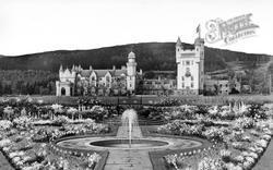 And Gardens c.1935, Balmoral Castle