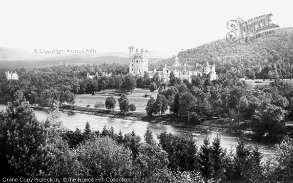 Photo of Balmoral Castle, c.1890