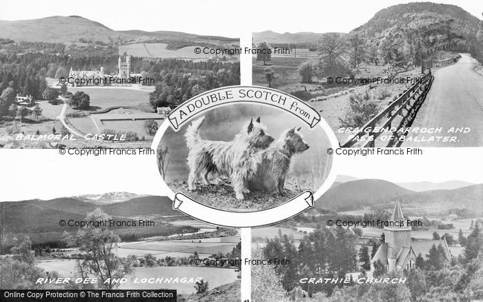Photo of Balmoral Castle, Composite c.1935