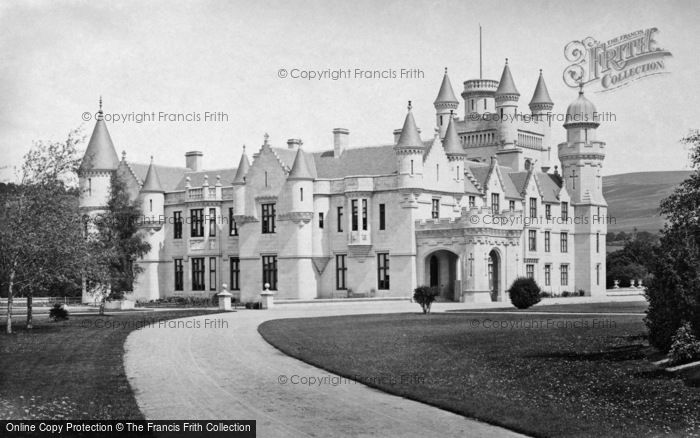 Photo of Balmoral Castle, From South West c.1890