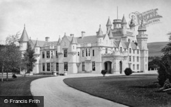 Balmoral Castle, from south west c1890