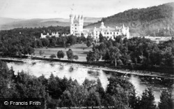 Balmoral Castle, From The River c.1880