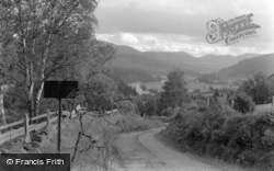 View Of Deeside 1962, Balmoral Castle