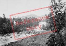 View Towards Castle c.1935, Balmoral Castle