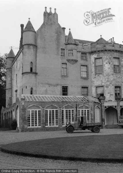 Photo of Balnagown Castle, 1952