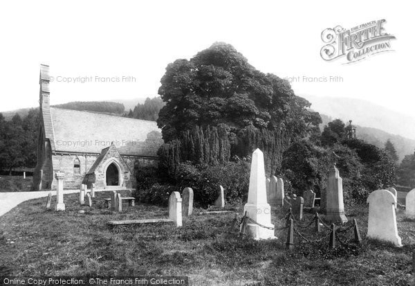 Balquhidder, The Old And New Churches 1899