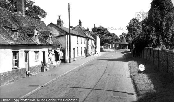 Photo of Balsham, High Street 1959
