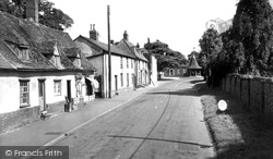 Balsham, High Street 1959