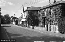 Balsham, Main Road 1959