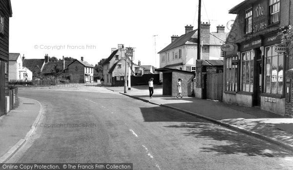 Photo of Balsham, Post Office And Stores 1959
