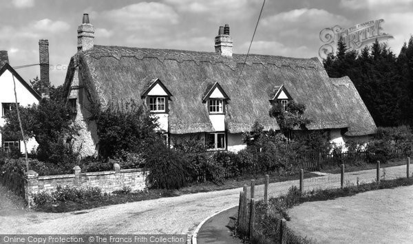 Photo of Balsham, Thatched Cottage 1959
