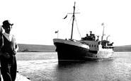 Baltasound, 'earl Of Zetland' Arriving c.1960