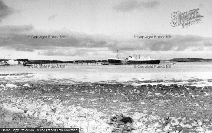 Photo of Baltasound, 'earl Of Zetland' At The Pier c.1960