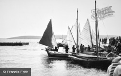 Baltasound, Fishing Boats c.1960