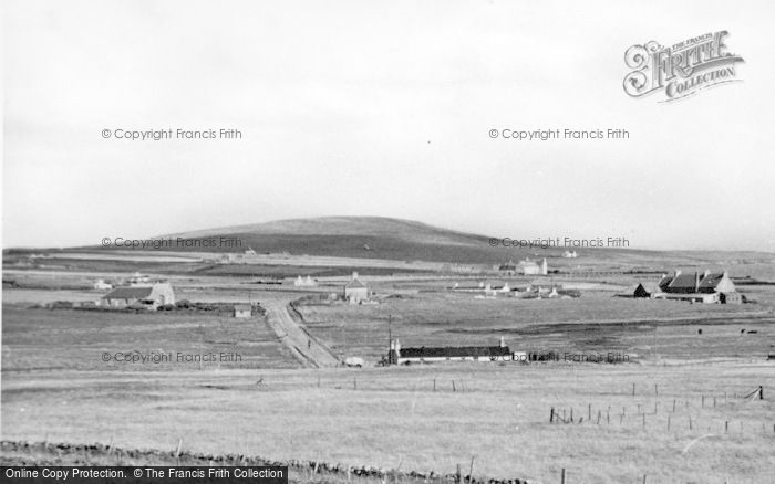 Photo of Baltasound, From The West c.1950