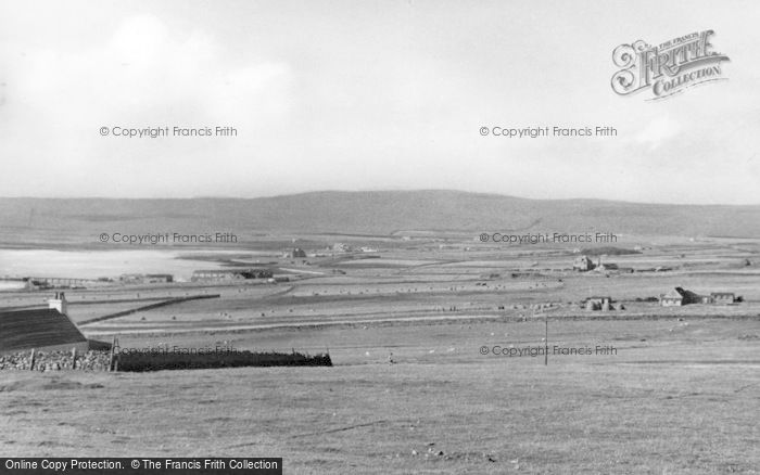 Photo of Baltasound, Looking South c.1950