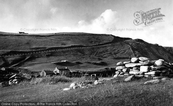 Photo of Baltasound, Norwick Unst c.1960