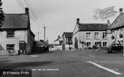 Baltonsborough, The Greyhound Inn c.1950