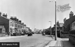 Bamber Bridge, Station Road c.1955