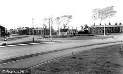 Bamber Bridge, The Roundabout c.1955