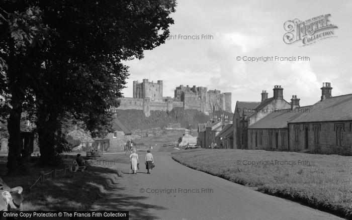 Photo of Bamburgh, 1954