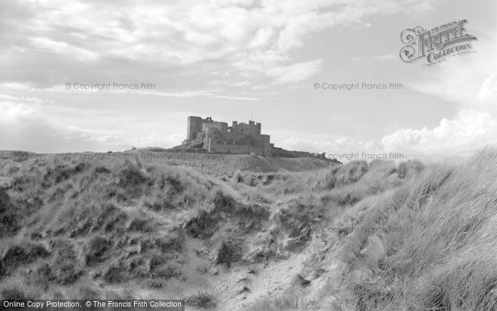 Photo of Bamburgh, Castle 1954