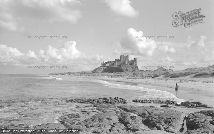 Photo of Bamburgh, Castle 1954