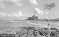 Bamburgh, Castle 1954