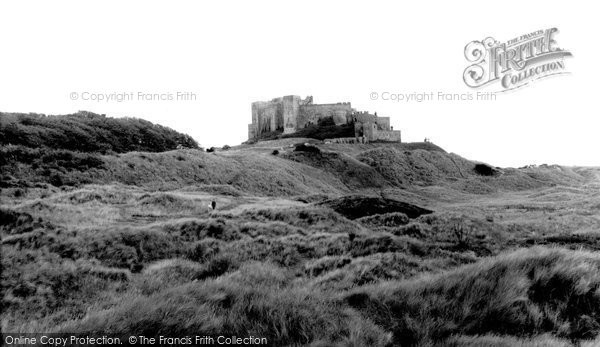 Photo of Bamburgh, Castle 1962