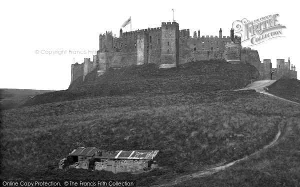 Photo of Bamburgh, Castle c.1880