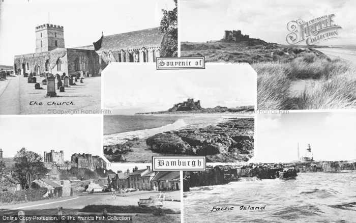 Photo of Bamburgh, Composite c.1955