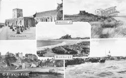 Bamburgh, Composite c.1955