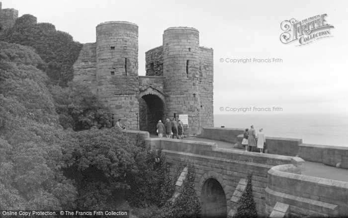 Photo of Bamburgh, Entrance To Castle 1962