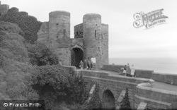 Bamburgh, Entrance To Castle 1962