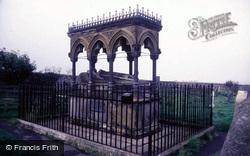 Bamburgh, Grace Darling Monument, St Aiden's Church 1986