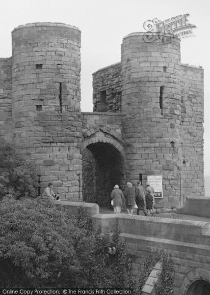 Photo of Bamburgh, People Entering The Castle 1962