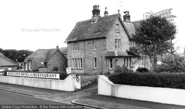 Photo of Bamburgh, Radcliffe Hotel 1962