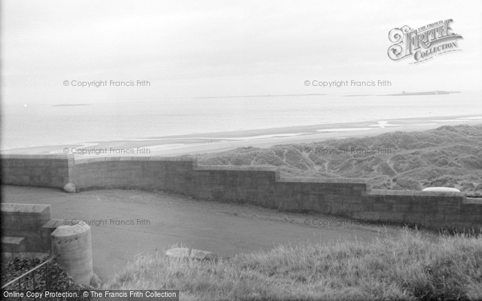 Photo of Bamburgh, Sea View From Castle 1962