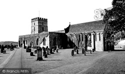 Bamburgh, St Aidan's Church 1954