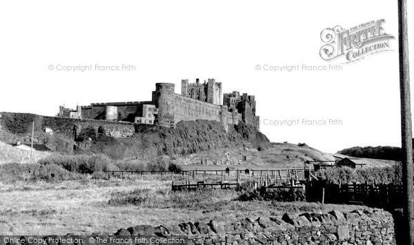 Photo of Bamburgh, the Castle c1955, ref. B547025