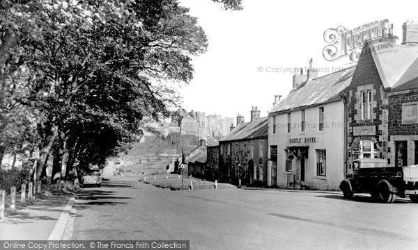 Photo of Bamburgh, The Castle And Village 1954