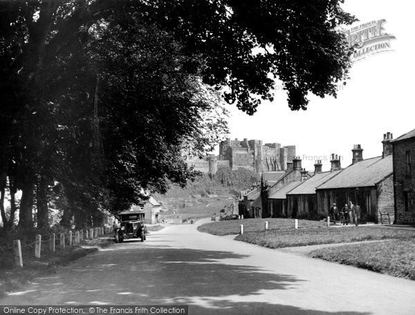 Photo of Bamburgh, the Castle c1935, ref. B547016a