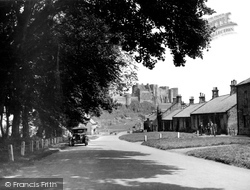 Bamburgh, The Castle c.1935