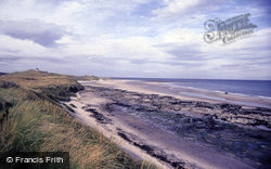Bamburgh, The Coast 1986